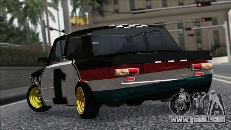 VAZ 2101 is a Racing Car for GTA San Andreas back view