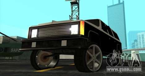 FBI Rancher Tuning for GTA San Andreas right view