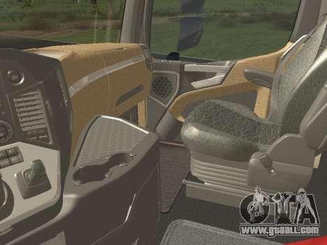 Mercedes-Benz Actros Mp4 4x2 v2.0 Steamspace for GTA San Andreas