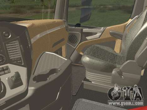Mercedes-Benz Actros Mp4 6x4 v2.0 Steamspace for GTA San Andreas back view