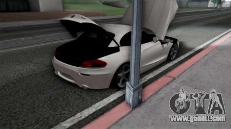 BMW Z4 for GTA San Andreas interior