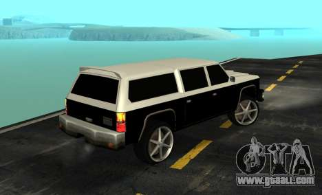 FBI Rancher Tuning for GTA San Andreas left view
