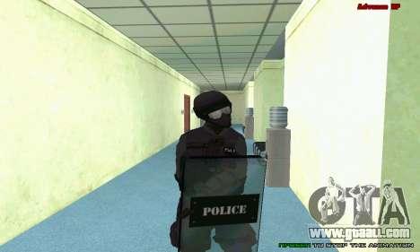Skin SWAT GTA 5 (PS3) for GTA San Andreas ninth screenshot