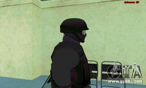 Skin SWAT GTA 5 (PS3) for GTA San Andreas fifth screenshot