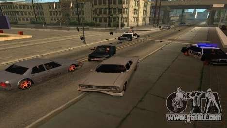 Cheetah Mod v1.1 for GTA San Andreas second screenshot