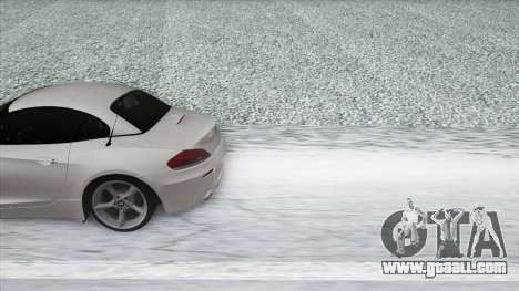 BMW Z4 for GTA San Andreas back view