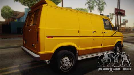 Ford E-150 Commercial Van 1982 2.0 IVF for GTA San Andreas left view