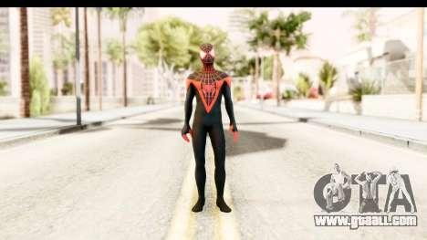 Marvel Heroes - Miles Morales for GTA San Andreas second screenshot