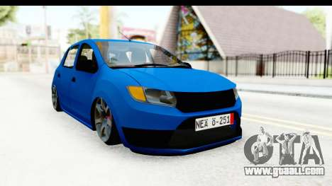 Dacia Sandero 2013 for GTA San Andreas