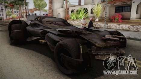 Batman VS Superman Batmobile for GTA San Andreas