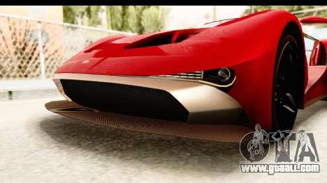 GTA 5 Vapid FMJ IVF for GTA San Andreas interior
