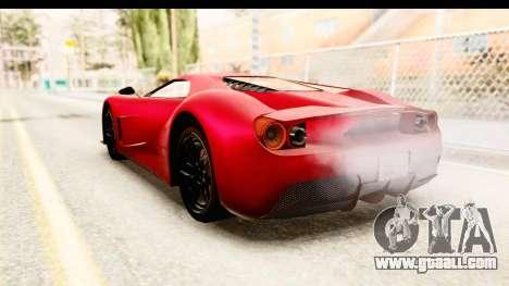 GTA 5 Vapid FMJ IVF for GTA San Andreas left view