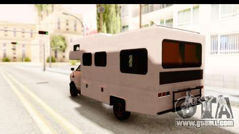 GTA 5 Camper for GTA San Andreas right view
