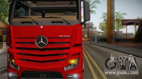 Mercedes-Benz Actros Mp4 6x4 v2.0 Bigspace for GTA San Andreas