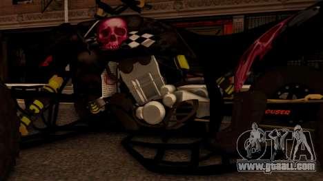 Quad Graphics Skull for GTA San Andreas inner view