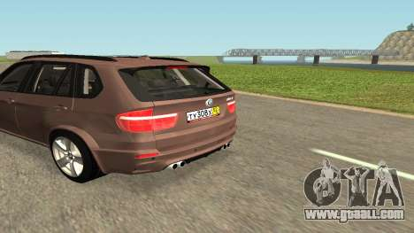 BMW X5M for GTA San Andreas left view