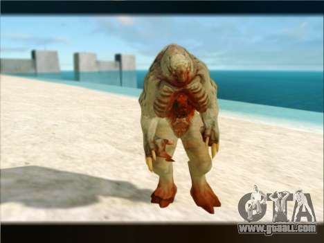 Berzerker from DOOM 3 for GTA San Andreas fifth screenshot