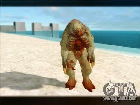 Berzerker from DOOM 3 for GTA San Andreas fifth screenshot