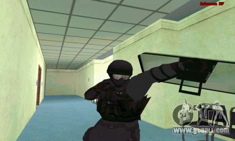 Skin SWAT GTA 5 (PS3) for GTA San Andreas