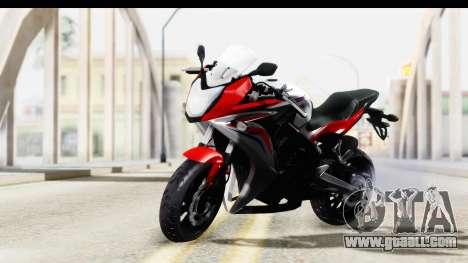 Honda CBR650F for GTA San Andreas