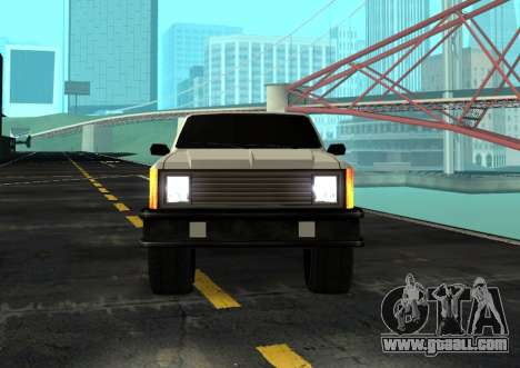 FBI Rancher Tuning for GTA San Andreas back left view