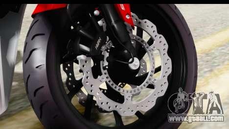Honda CBR650F for GTA San Andreas back view
