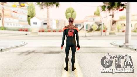 Marvel Heroes - Miles Morales for GTA San Andreas third screenshot