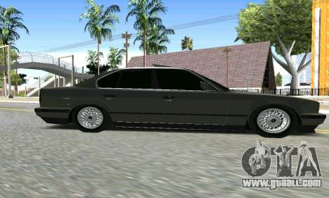 BMW 535 for GTA San Andreas right view