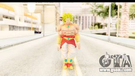 Dragon Ball Xenoverse Broly SSJ2 for GTA San Andreas second screenshot