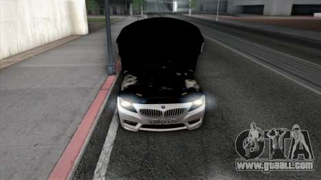 BMW Z4 for GTA San Andreas wheels