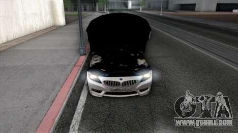 BMW Z4 for GTA San Andreas wheels
