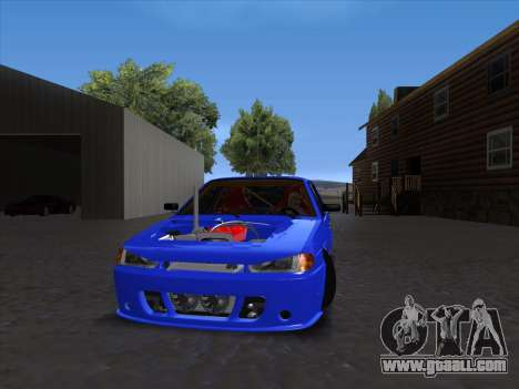 VAZ 2114 Sport for GTA San Andreas left view