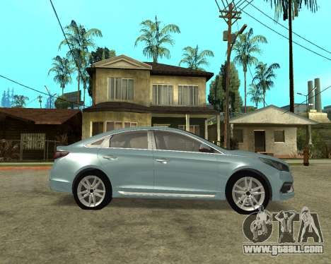 Hyundai Sonata Armenian for GTA San Andreas left view