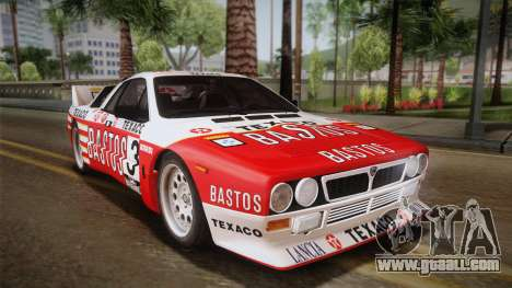 Lancia Rally 037 Stradale (SE037) 1982 Dirt PJ2 for GTA San Andreas left view