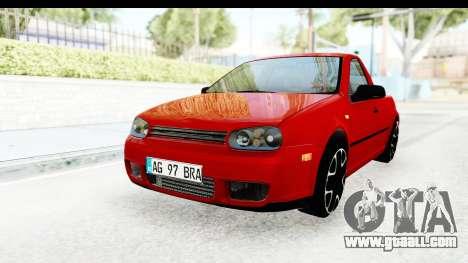 Volkswagen Golf Mk4 Pickup for GTA San Andreas