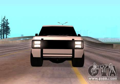 Huntley Rover for GTA San Andreas right view