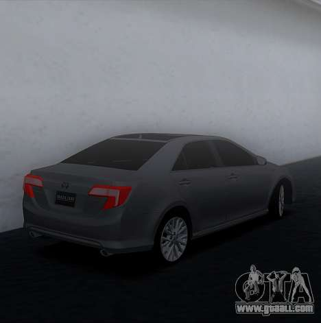 Toyota Camry 2013 USA for GTA San Andreas left view