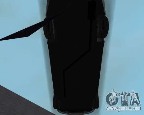 Chevrolet Aveo Armenian for GTA San Andreas bottom view