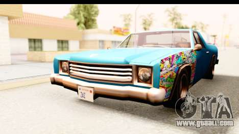 Picador Sticker Bomb for GTA San Andreas right view