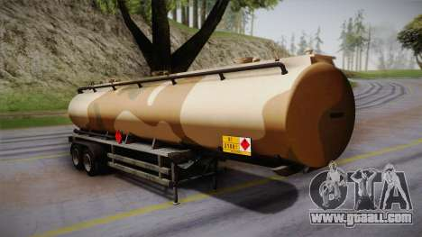 GTA 5 Army Tank Trailer IVF for GTA San Andreas
