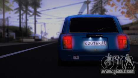 VAZ 2104 Anime for GTA San Andreas right view