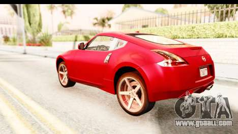 Nissan 370Z 2010 for GTA San Andreas left view