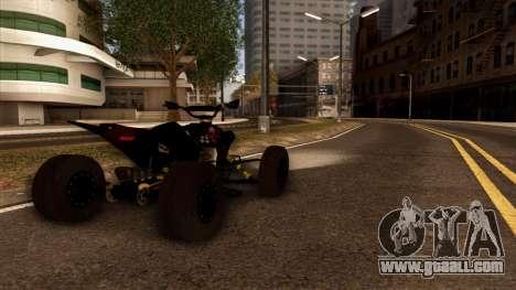 Quad Graphics Skull for GTA San Andreas left view