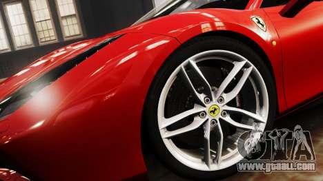 Ferrari 488 GTB 2016 for GTA 4 back left view
