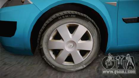 Renault Megane 2 Hatchback v2 for GTA San Andreas right view