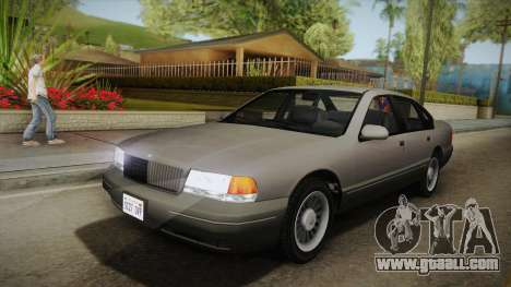 Willard Elegant SA Style for GTA San Andreas