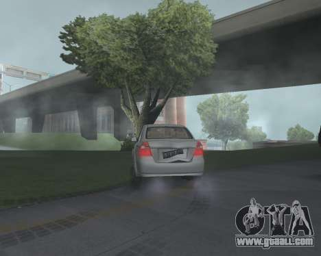 Chevrolet Aveo Armenian for GTA San Andreas right view