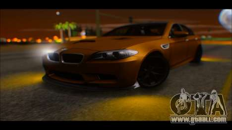 BMW M5 F10 2014 for GTA San Andreas right view