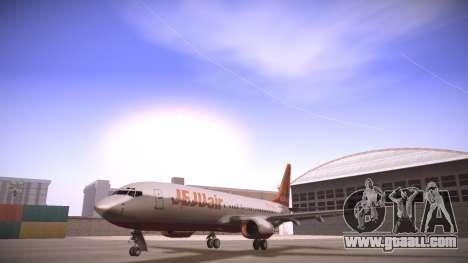 Boeing 737-800 Jeju Air for GTA San Andreas