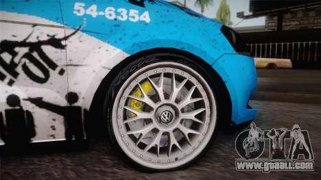 Volkswagen Voyage G6 Pmerj Graffiti for GTA San Andreas right view